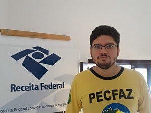 Danilo Jacques, representante regional do Sindfazenda (Foto: John Pacheco/G1) Técnico administrativo Danilo Jacques, representante regional do Sindfazenda (Foto: John Pacheco/G1)